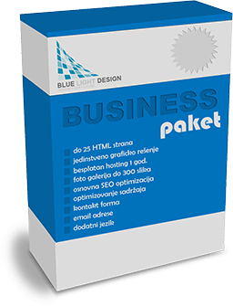 Business web paket